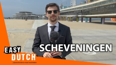 Tour Around Scheveningen (In slow Dutch) | Super Easy Dutch 3