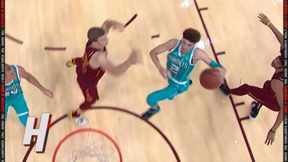 LaMelo Ball with ACROBATIC Finish vs Cavaliers 😤